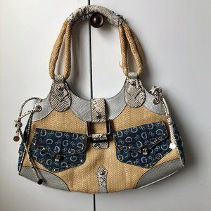 Guess top handle handbag